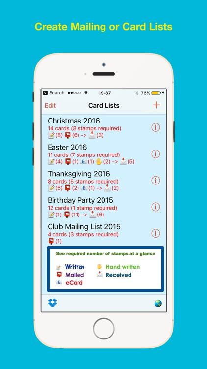 Cardlists Label Printing screenshot-3