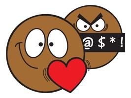 Ochat: Brown Smiley & Emoji Stickers for iMessage
