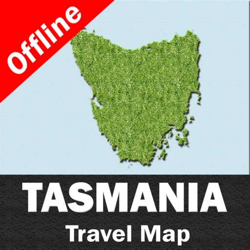 TASMANIA – GPS Travel Map Offline Navigator