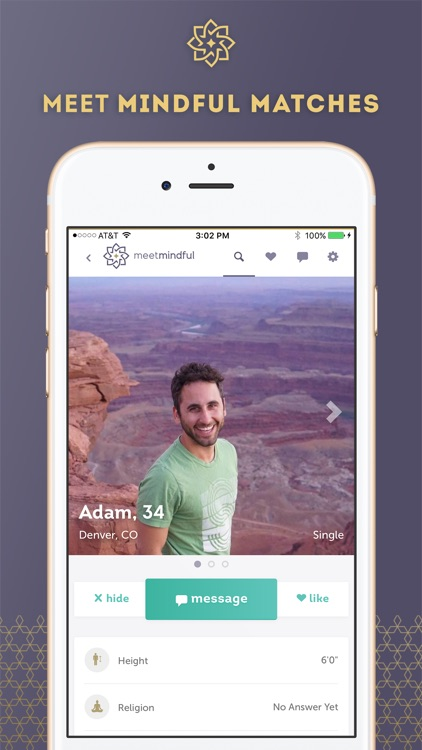 MeetMindful - Meet Like-Minded Singles app image