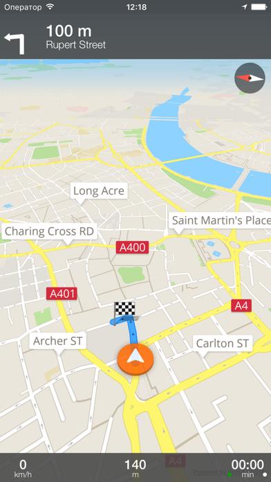 Лейпциг Оффлайн Карта иСкриншоты 5