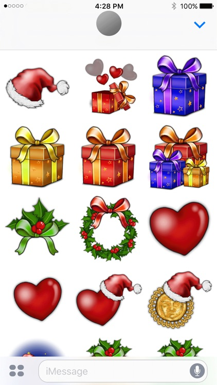 Stickers for Santa!