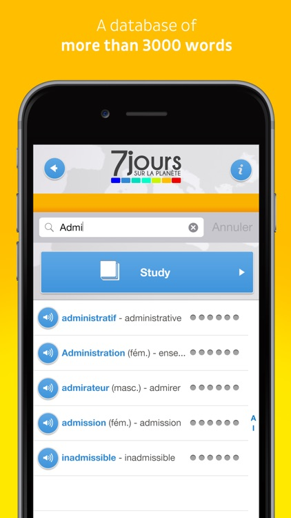 Learn French with 7 jours sur la planète - Lite