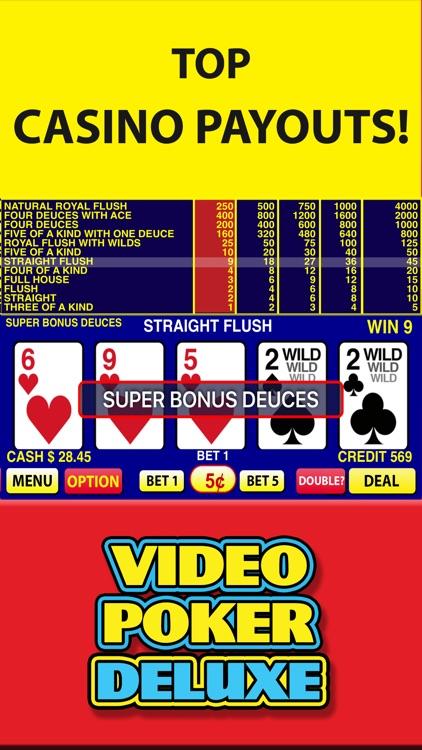 Video Poker Deluxe - Vegas Casino Video Poker Game screenshot-3