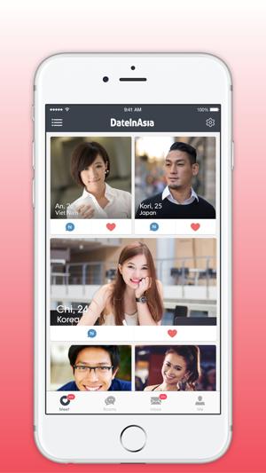 Dating-Apps asiatisch