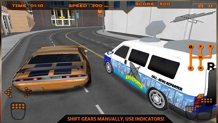 Real Extreme Racing Car Driving Simulator Free 3D screenshot-4