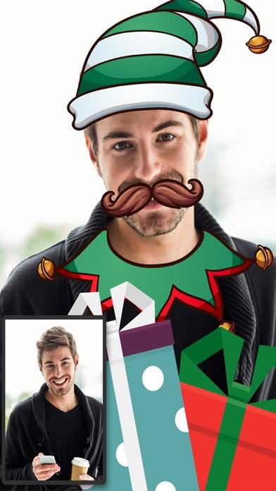 Navidad Snap filtros  – fotoeditor caras navideñasCaptura de pantalla de5