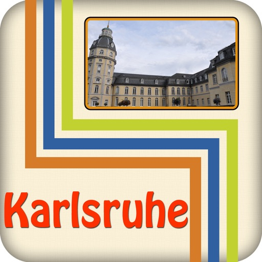 Karlsruhe Offline Map Travel Guide