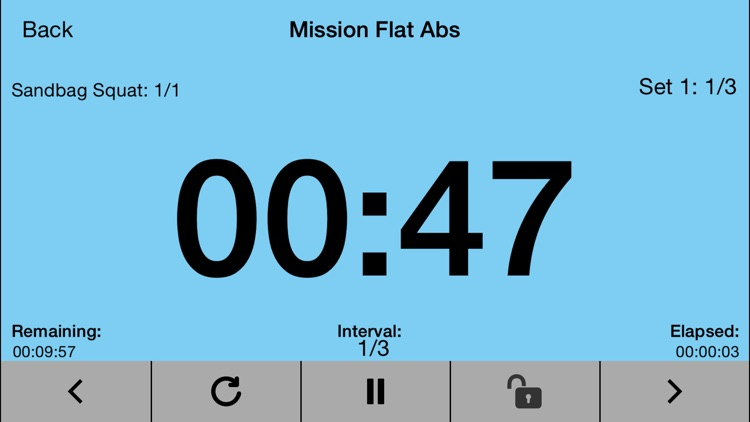 Flexible Interval Timer for Training & Workouts screenshot-4