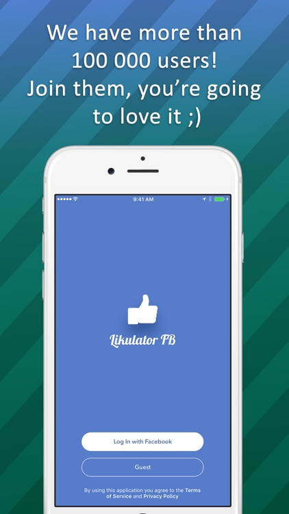 Likulator for Facebook