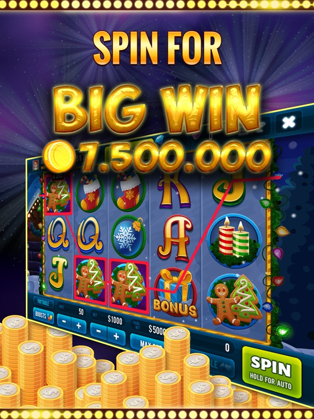 Christmas Slots in Las Vegas Screenshot