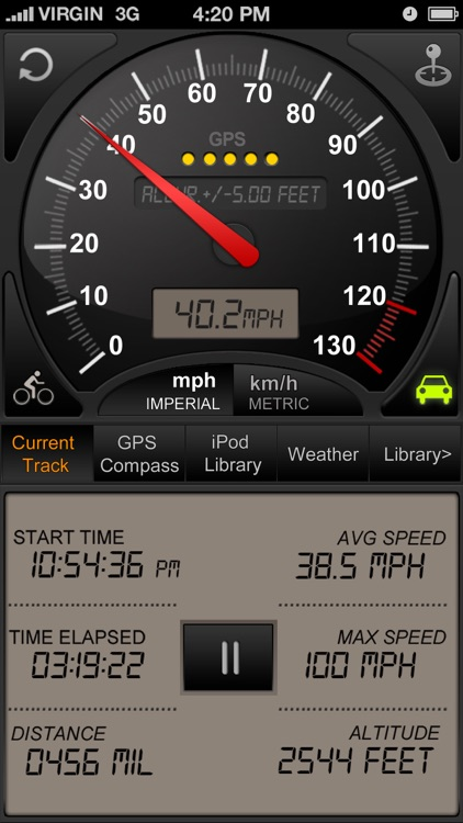 Speedometer GPS+ screenshot-1
