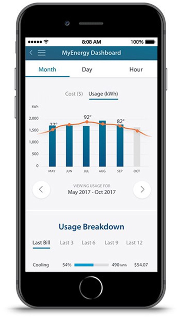 TXU Energy Screenshot