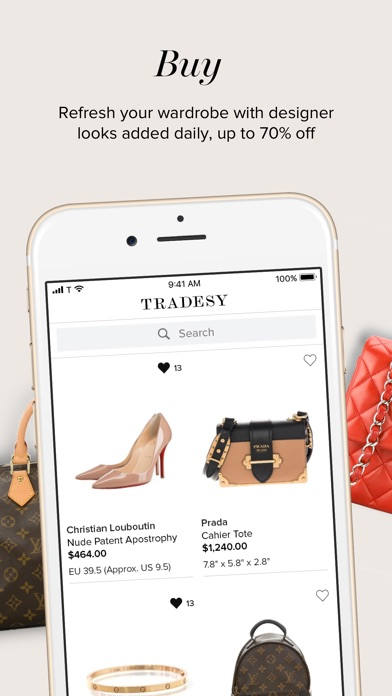 0d769b2560b Tradesy is the leading online peer-to-peer resale marketplace for buying  and selling luxury designer fashion. Shop styles at up to 70% off