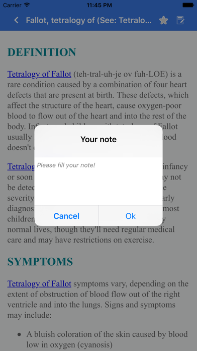 Disorder & Diseases Dictionary for Pc - Download free Medical app