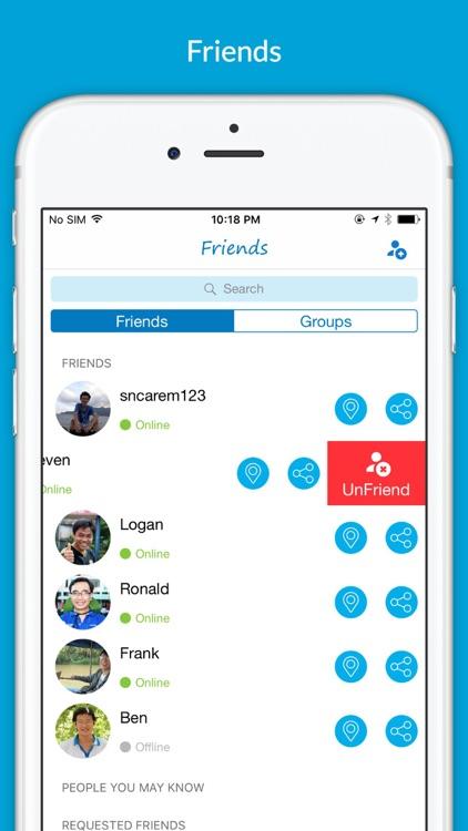 Friend Location Finder screenshot-3