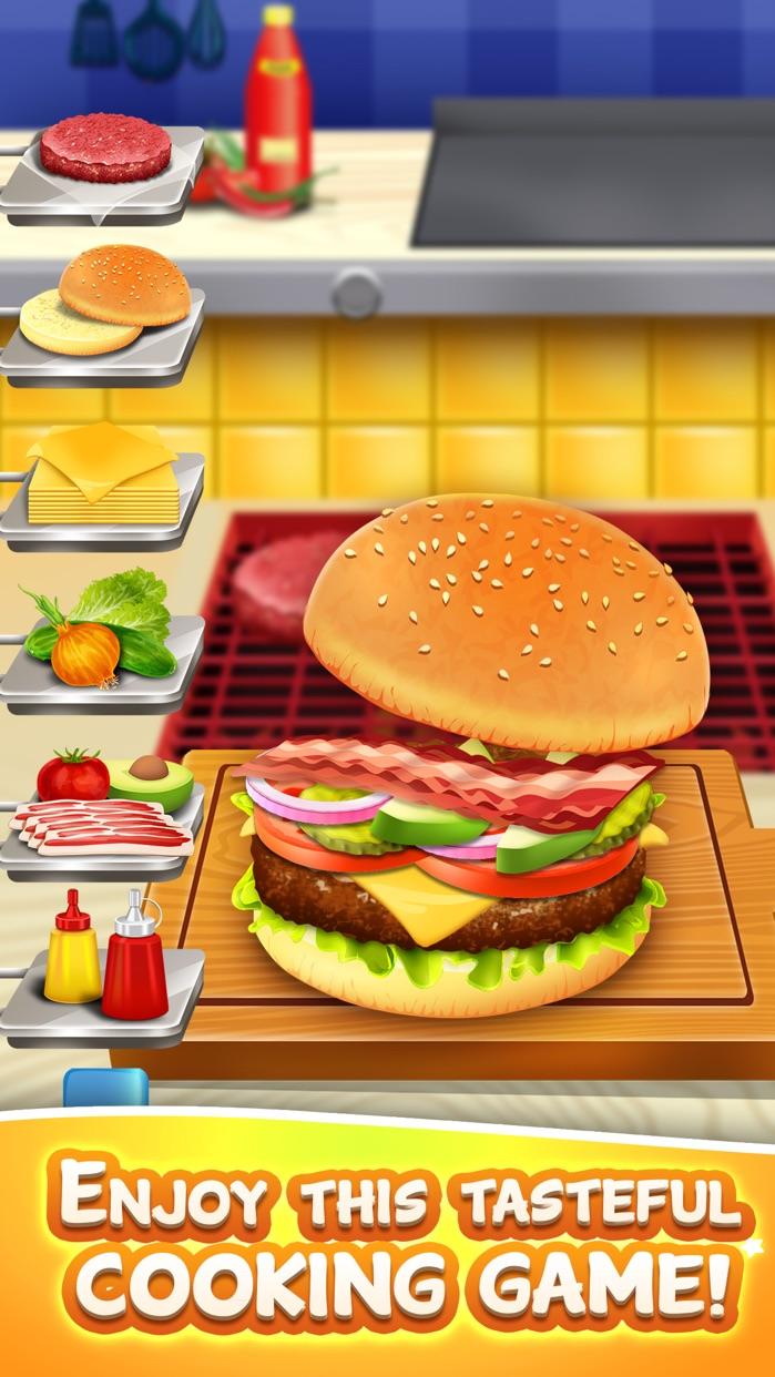 Kids Cooking Food Maker Games (Girl Boy) Free Screenshot
