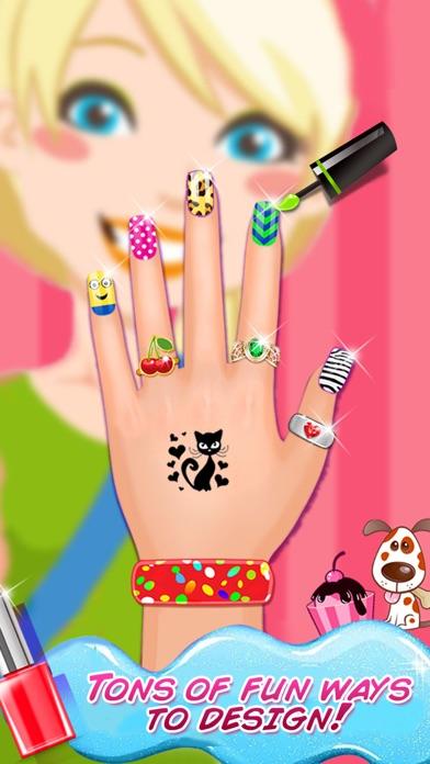 High School Nail Art Nail Salon Girls Game By Nasar Khan Role
