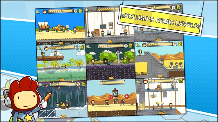 Scribblenauts Remix screenshot-1