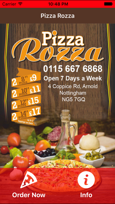Pizza Rozza Arnold By Abdollah Mohammadian On The Appstore