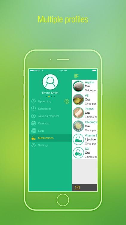 Pill Alert - Med, Prescriptions Reminder & Tracker screenshot-4