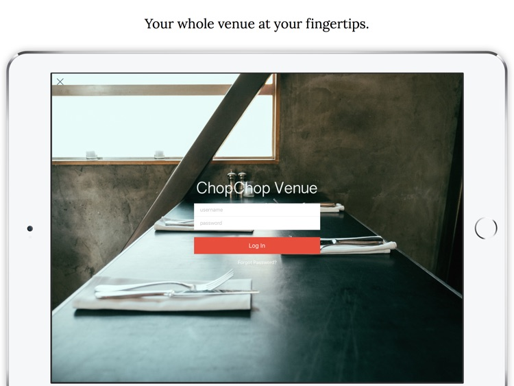 ChopChop Venue screenshot-0