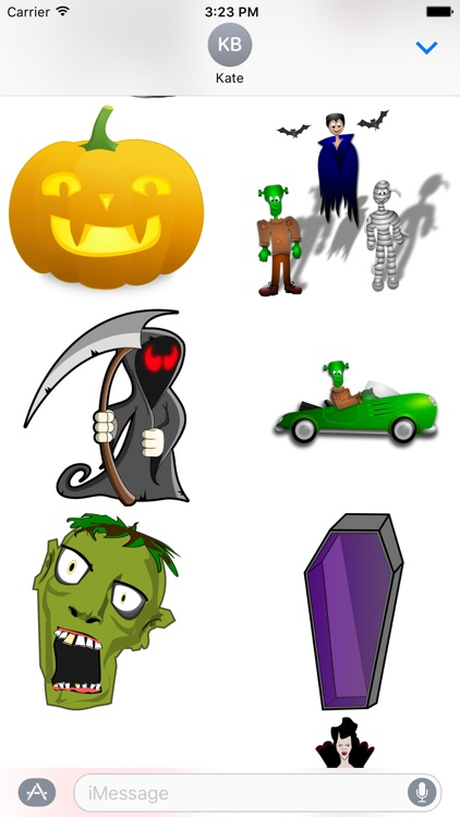 Happy Halloween Sticker Pack