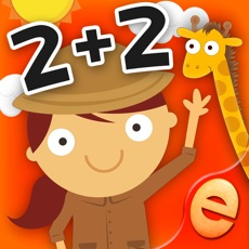 Activities of Animal Math Games for Kids in Pre-K, Kindergarten and 1st Grade Learning Numbers, Counting, Addition...