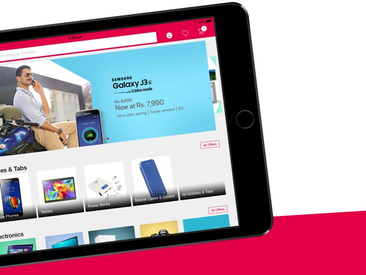 Snapdeal for iPad