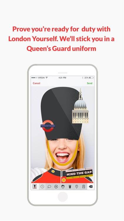 Londonmoji - London emoji-stickers! screenshot-3