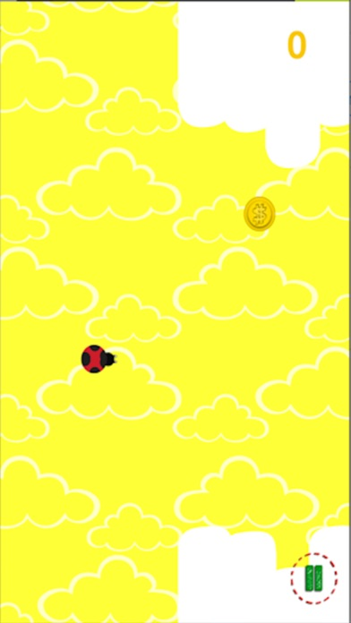 Ladybird in the Clouds