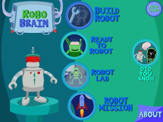 RoboBrain screenshot one
