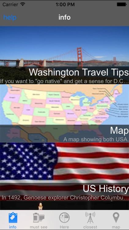 Washington DC Offline Travel Guide