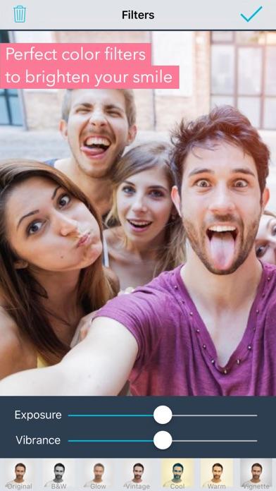Selfie Editor: face cam filter for Windows