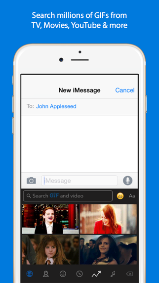 Screenshot for GIF Keyboard in Italy App Store
