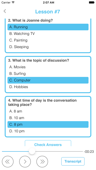 Learning English Easy Speaking screenshot four