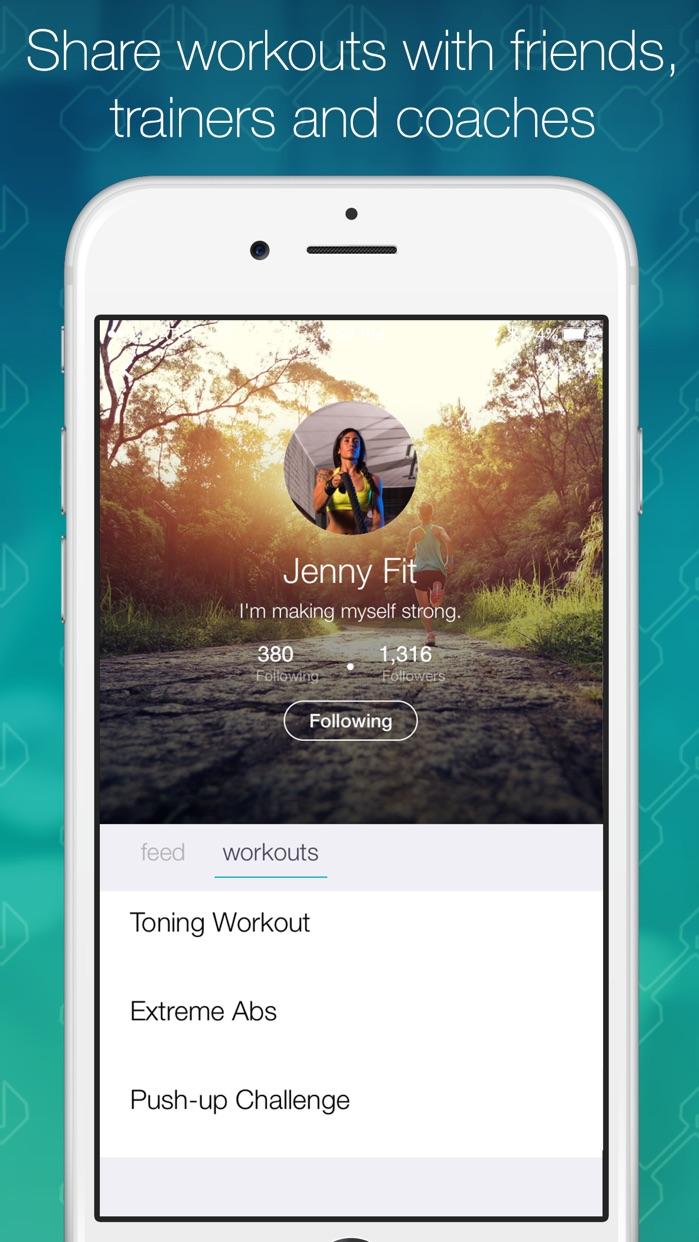 Fitlist - Workout Log & Fitness Tracker Screenshot