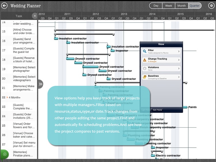 Project Management - MS Gantt Chart & Task Planner