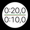 トレーニング用タイマー – タバタインターバルタイマーエキp