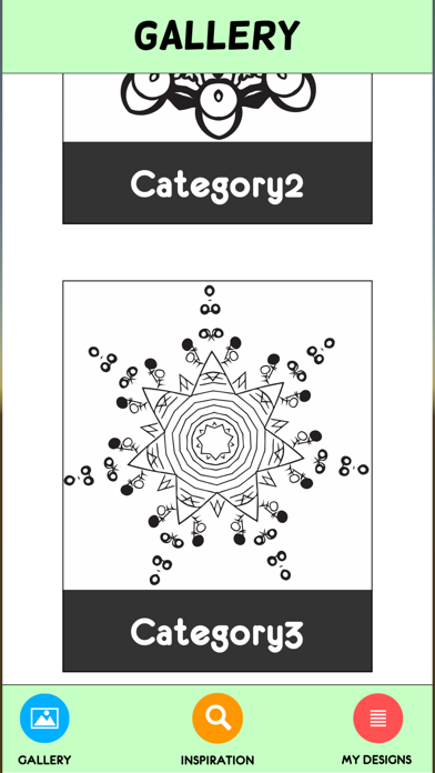 Coloring Book For Adults Pigment Pages Relaxation-3