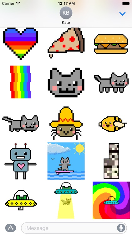 Nyan Cat Stickers! screenshot-2