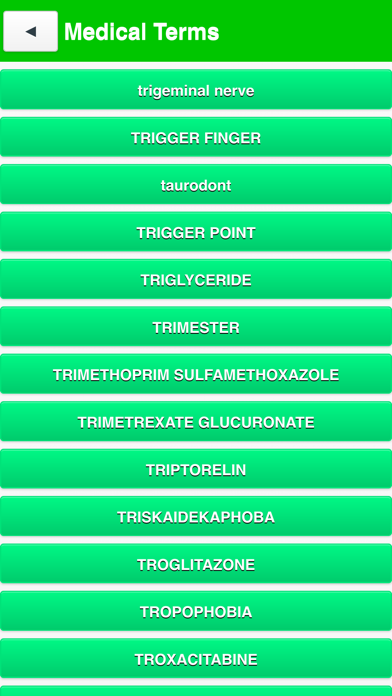 Best Medical terms screenshot three