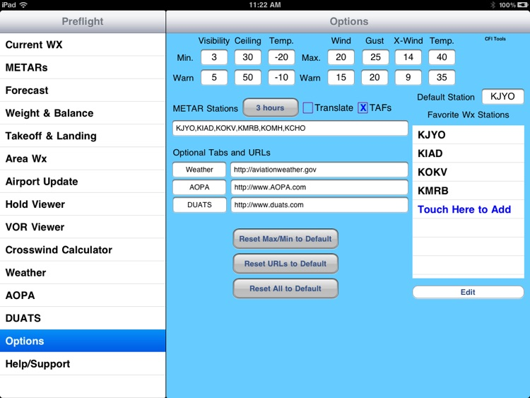 CFI Tools Preflight Wx+ screenshot-3