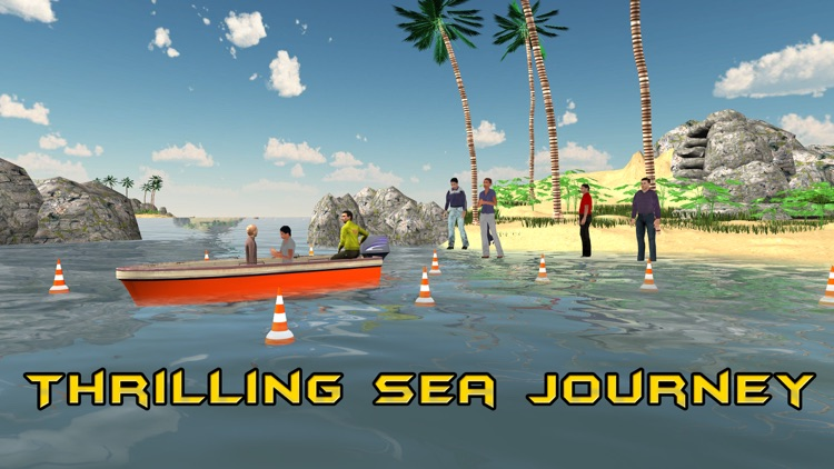 3D Motor Boat Simulator – Ride high speed boats in this driving simulation game