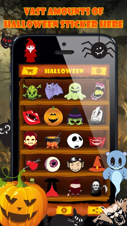 Halloween Emoji Stickers Pro - Face Photo Makeup