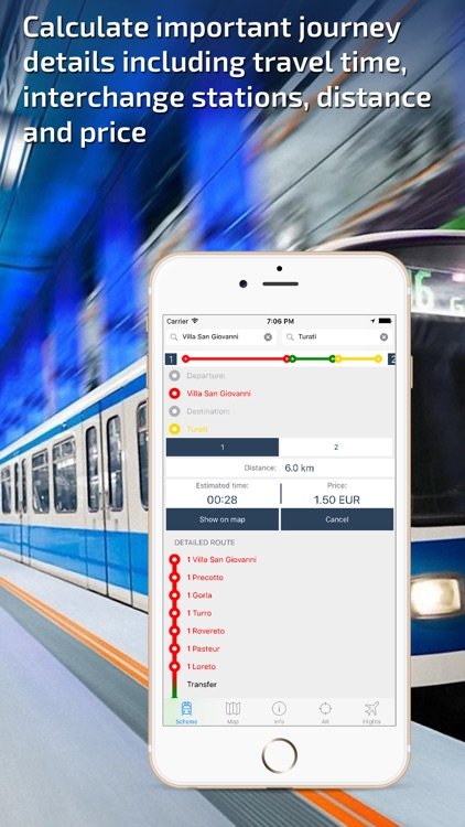 Milan Subway Guide and Route Planner