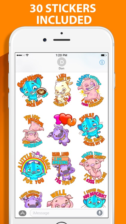 Moodtoons: Fun Stickers for Friends and Lovers