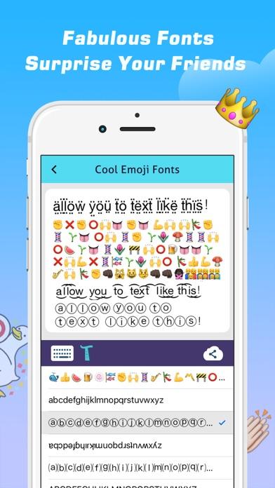 Emoji Free – Emoticons Art and Cool Fonts Keyboard-4