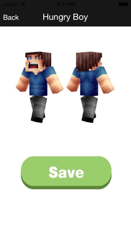 Skins for Minecraft PE Pocket Edition - Boy, Girl screenshot-3