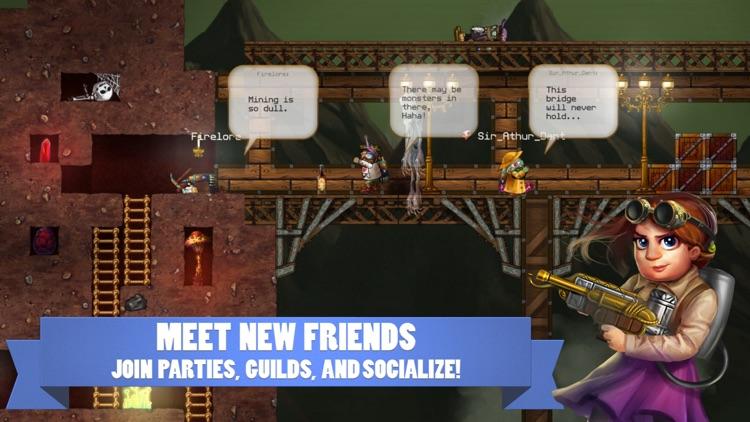Deepworld - Sandbox MMORPG screenshot-4